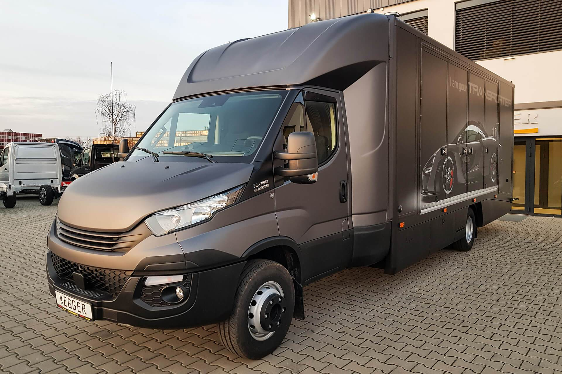 Iveco Daily - Enclosed transporter