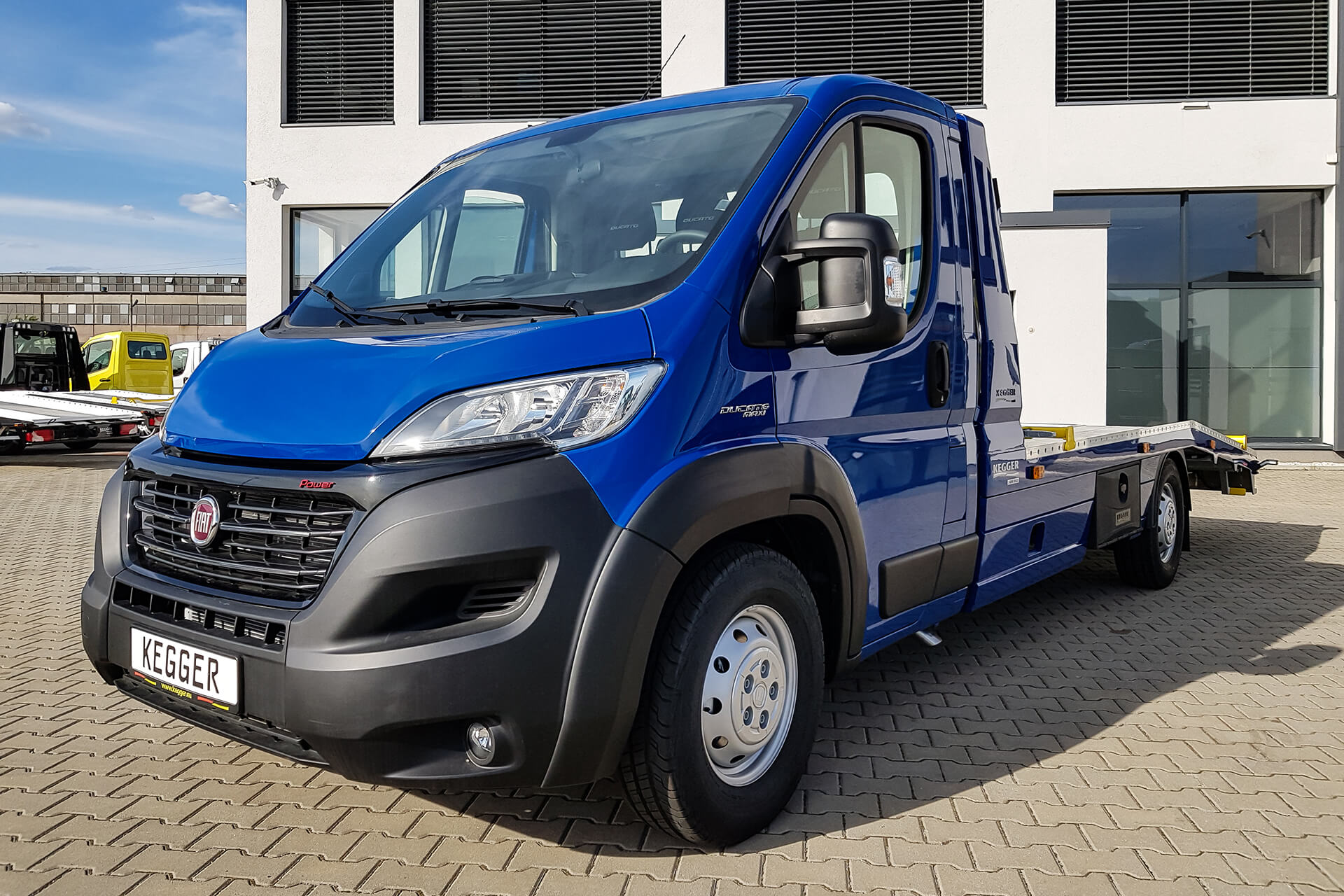 Fiat Ducato Low Race Basis
