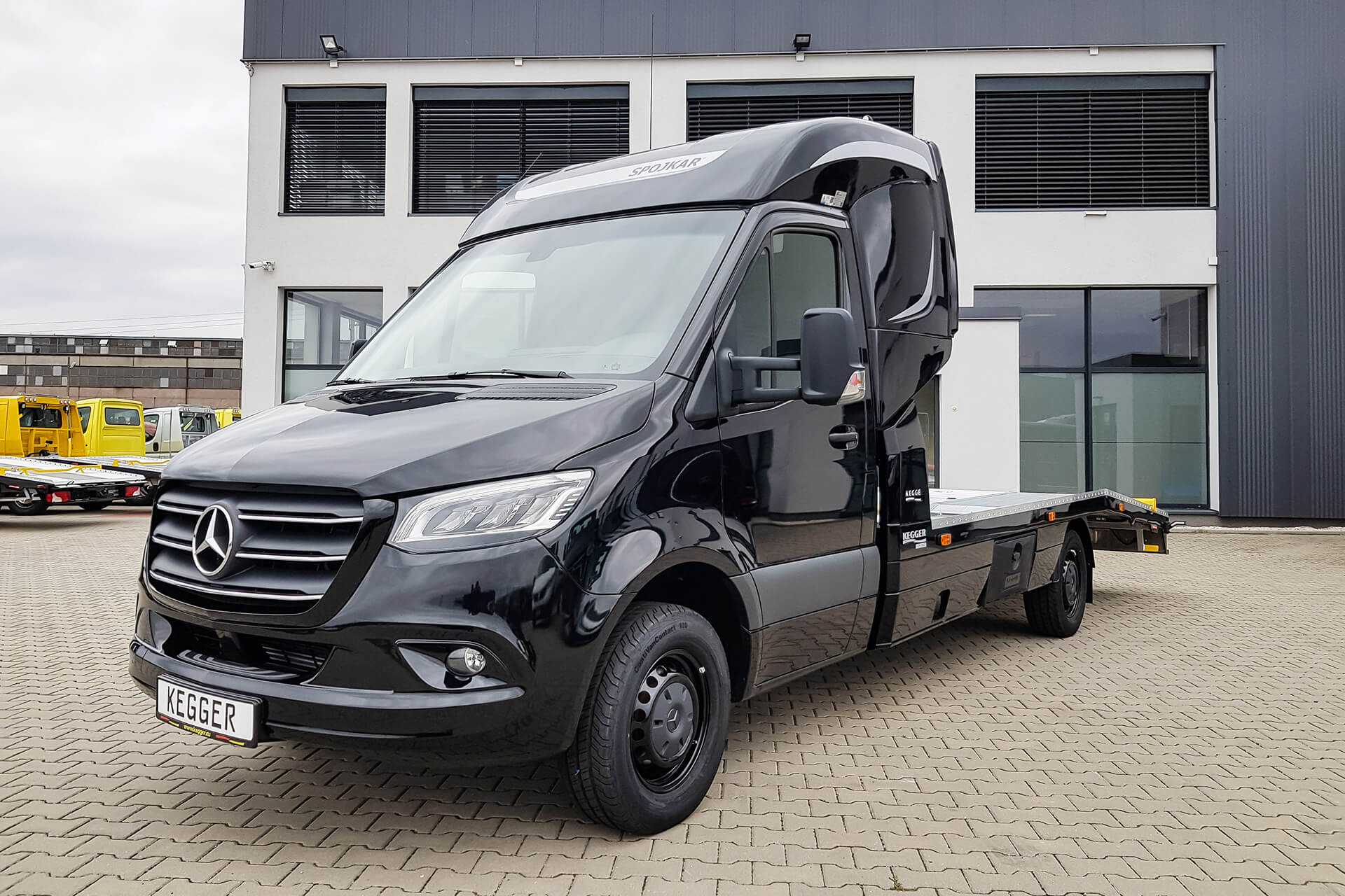 Mercedes Sprinter Low Race Basis