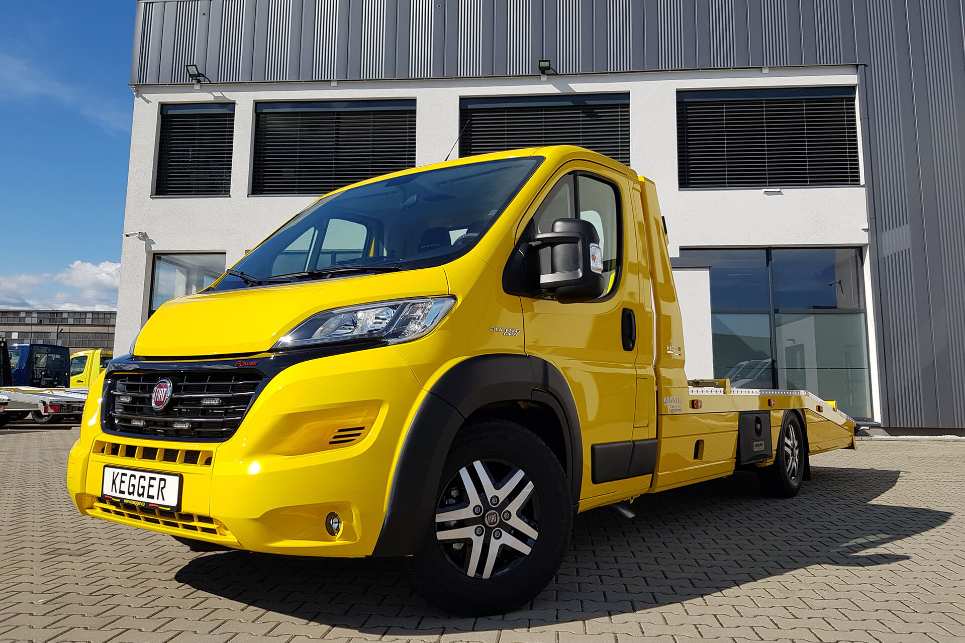 Fiat Ducato Low Race Pakiet