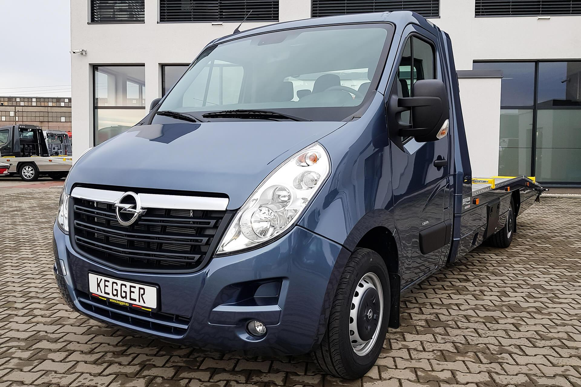 Opel Movano Low Race Pakiet