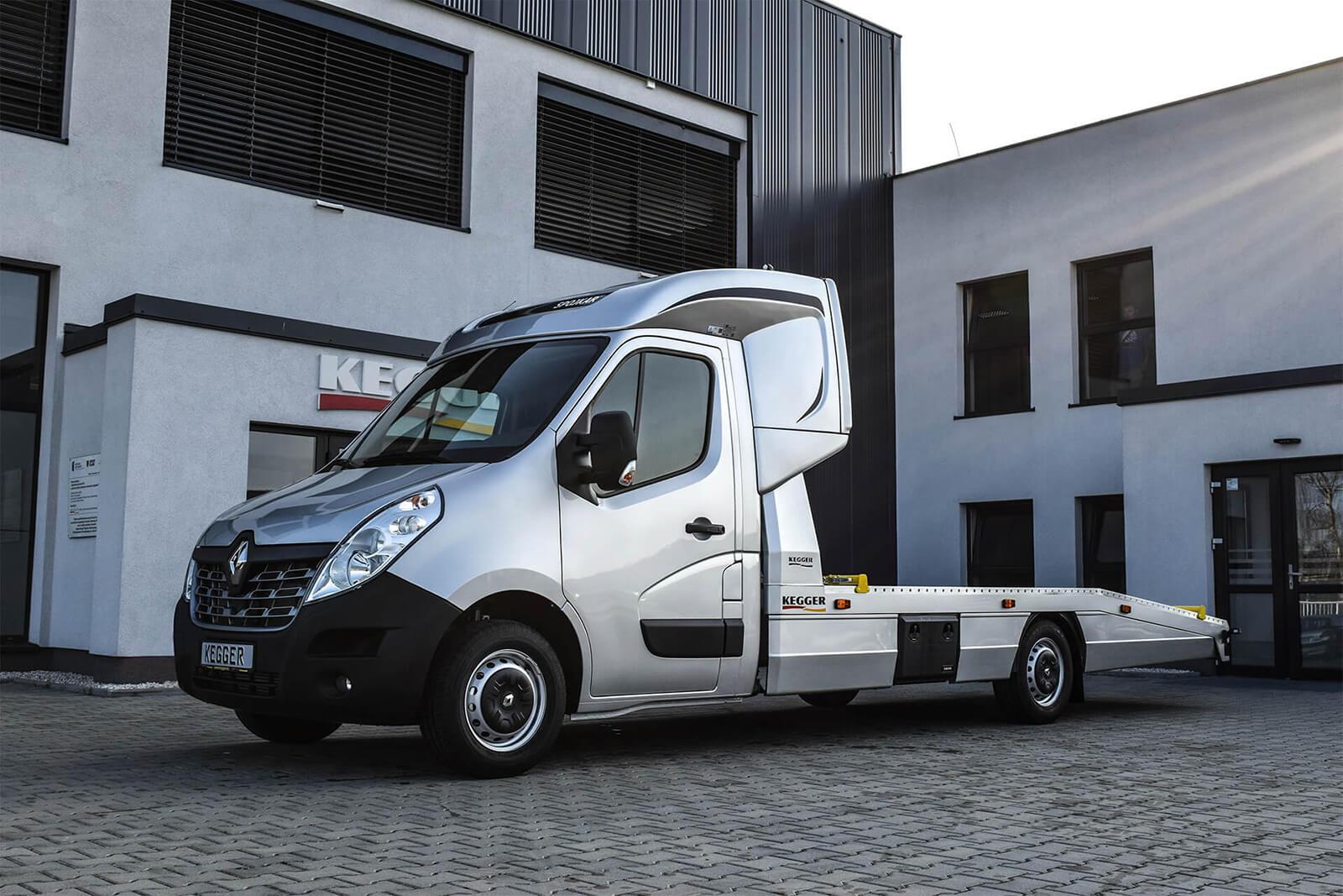 Renault Master Low Race Pakiet