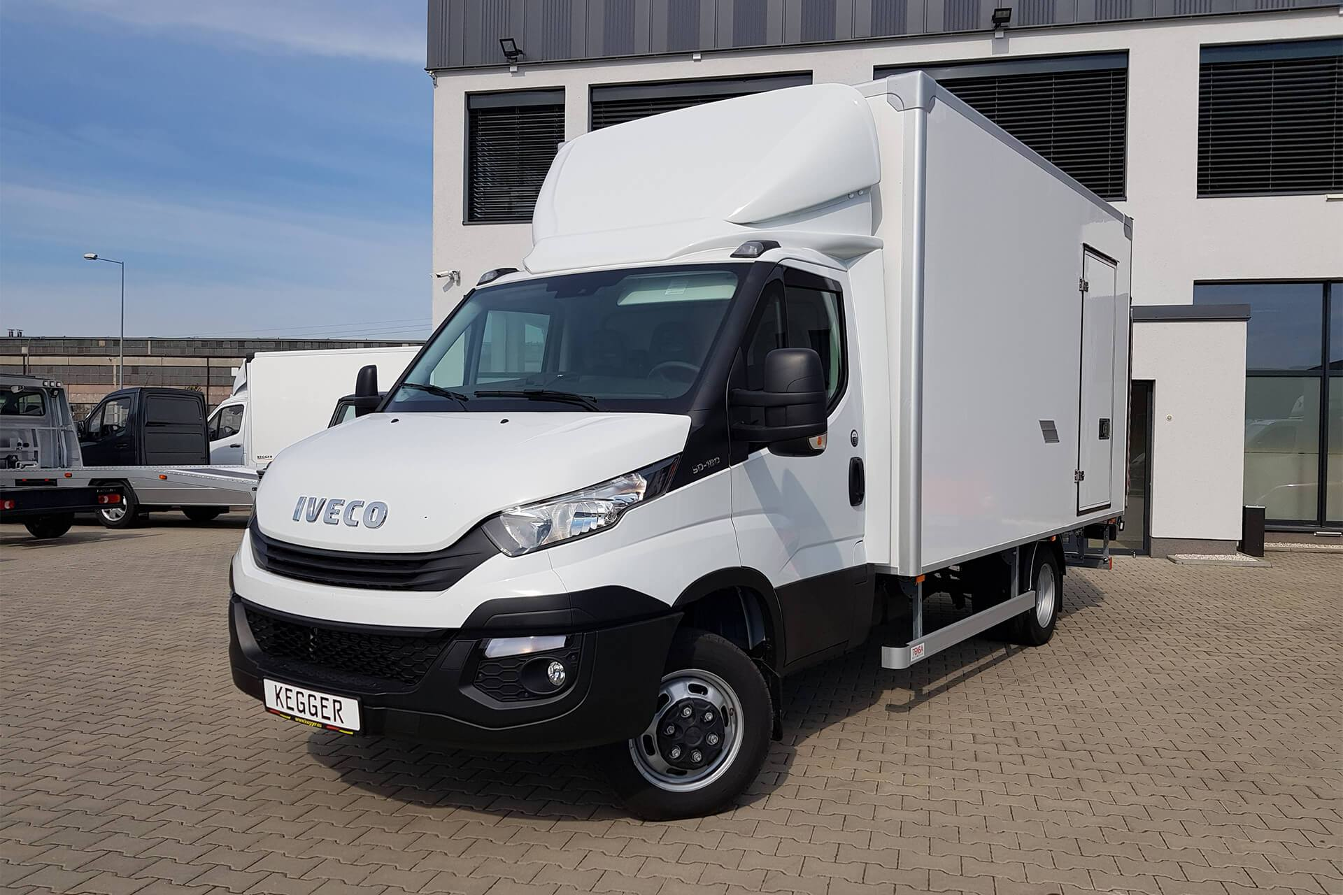 Speciale opbouw Iveco Koffer