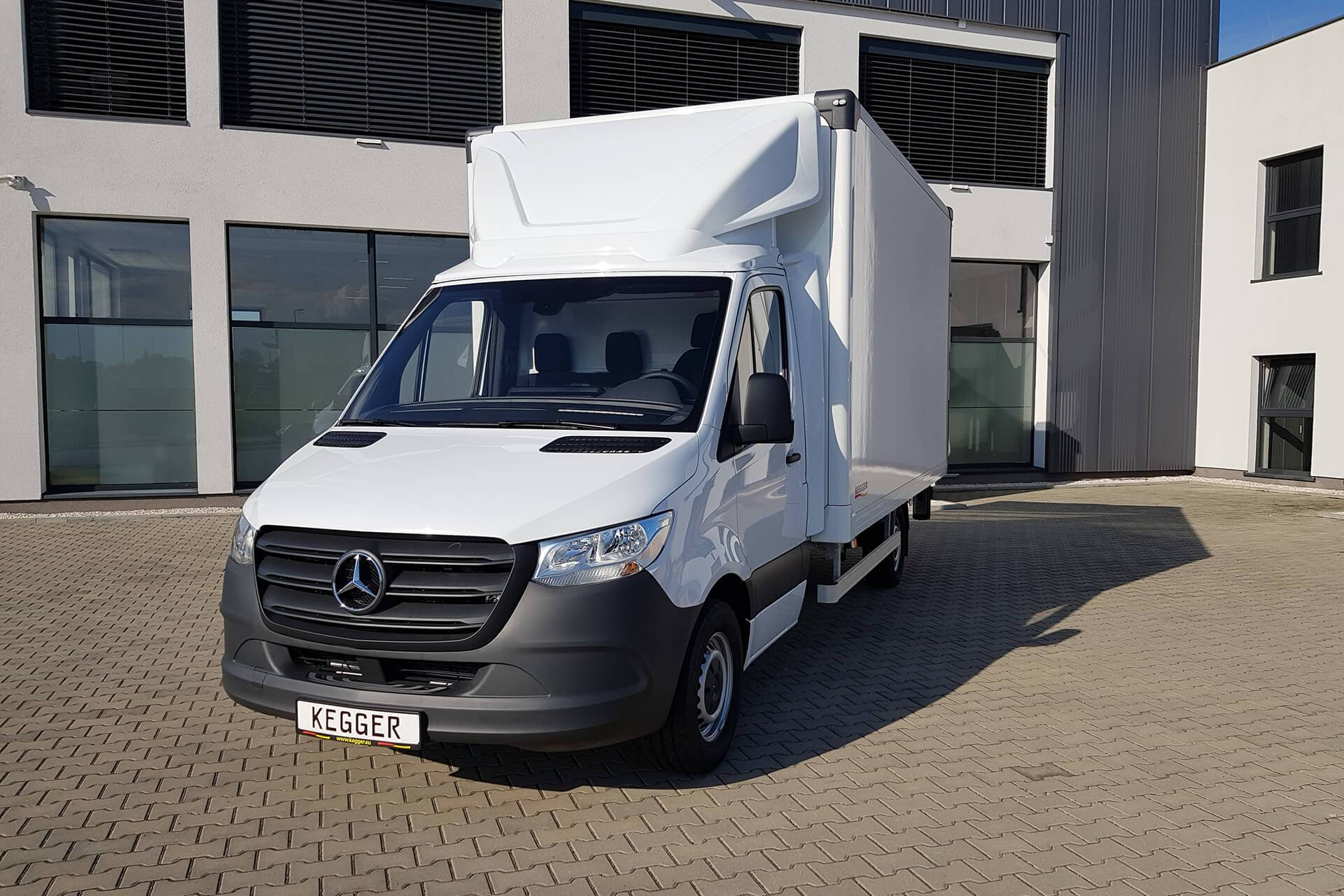 Mercedes Koffer - Speciale opbouw