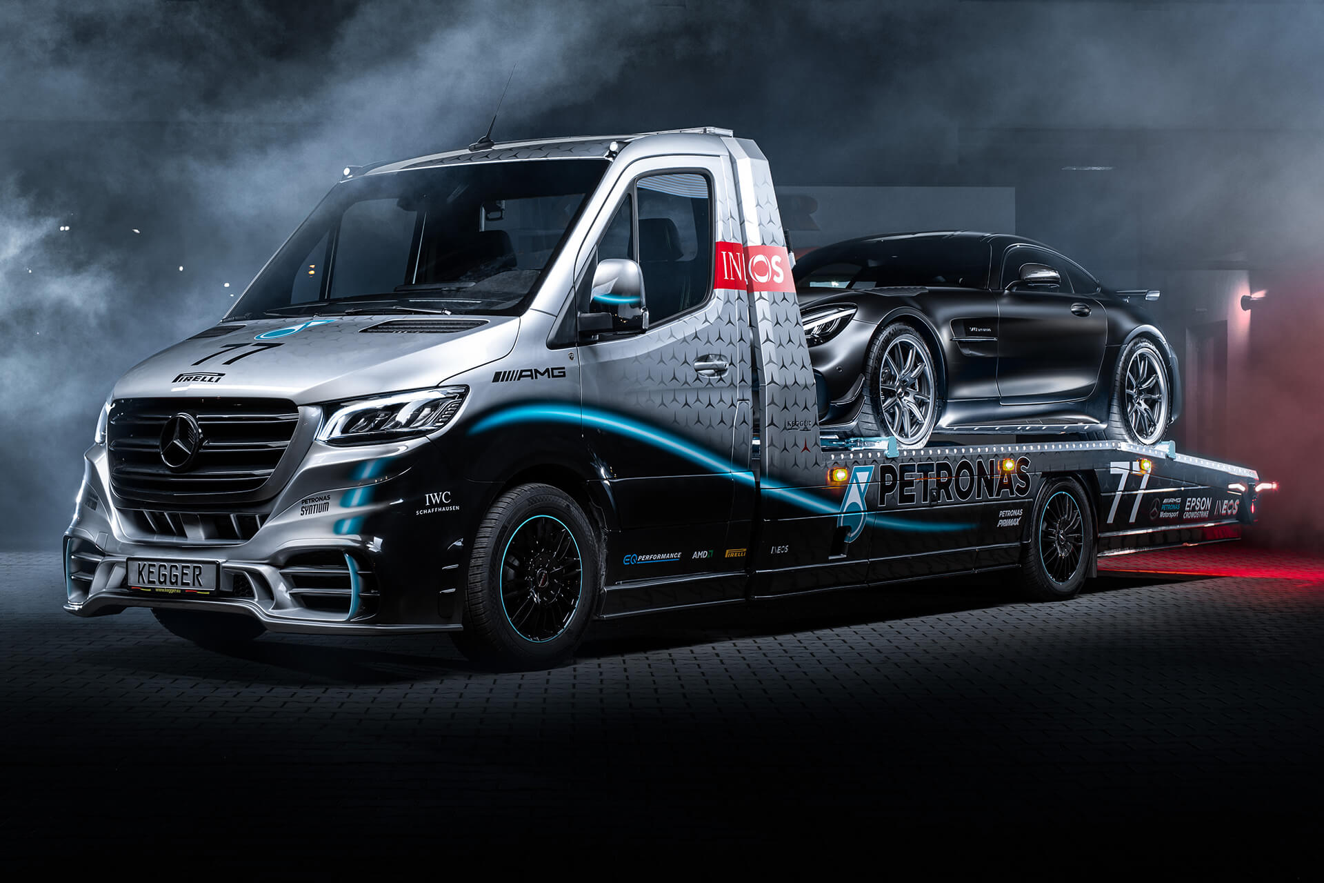 Mercedes Sprinter Petronas Edition