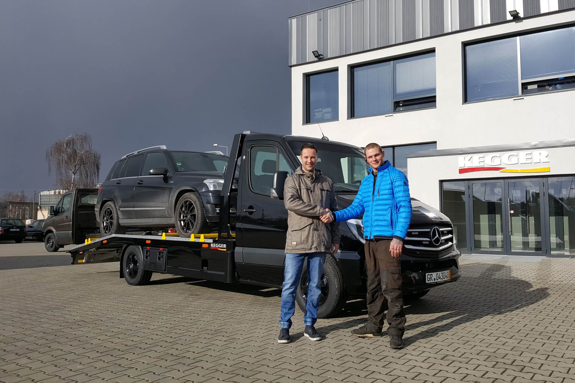 Mercedes Sprinter - Low Race Basis