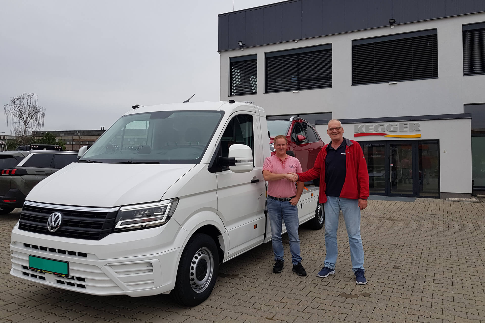 Volkswagen Crafter - Low Race Pakiet +
