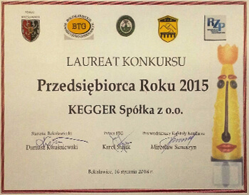 Laureat KEGGER